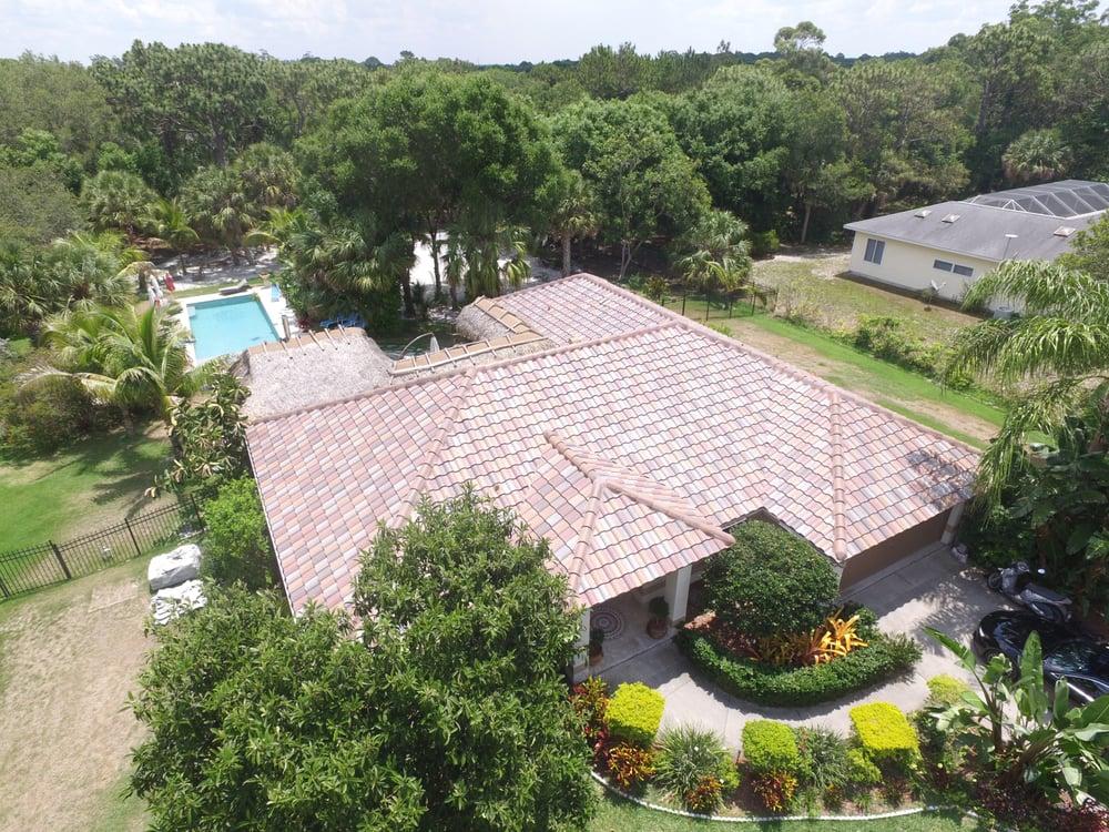 Our Florida Blend Tile Roof Installation In Nokomis Fl Yelp