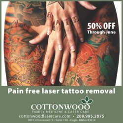 Cottonwood Laser Care Closed Tattoo Removal 100 W
