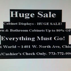 Cabinet World Closed 14 Reviews Home Garden 1401 W N Ave Chicago Il Phone Number Yelp