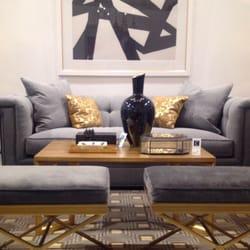 Photo Of Celadon   Montreal, QC, Canada. Sofa Capitonné Par Hickory Chair,