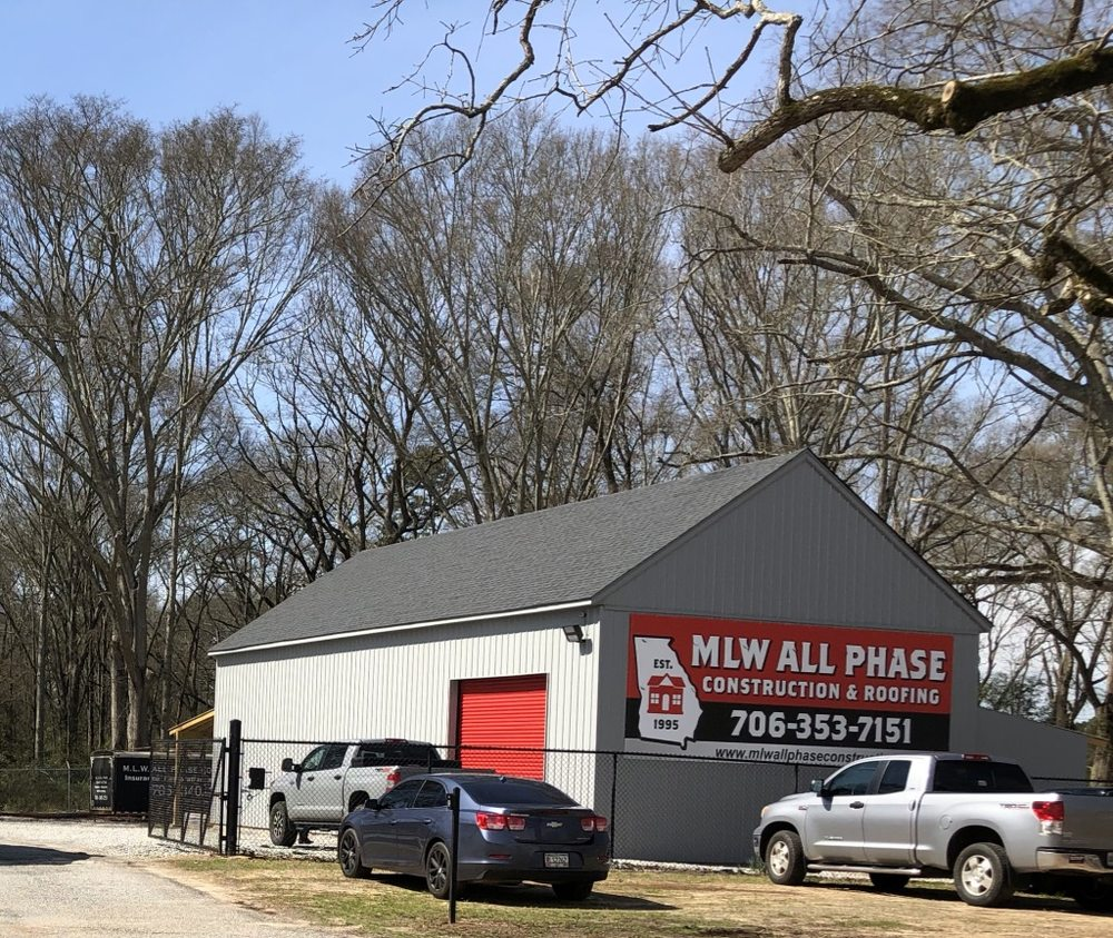 MLW All Phase Construction & Roofing: 1991 Jimmie Daniel Rd, Athens, GA