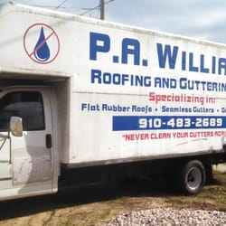 Photo Of Paul Williams Roofing And Guttering Service Fayetteville Nc United States