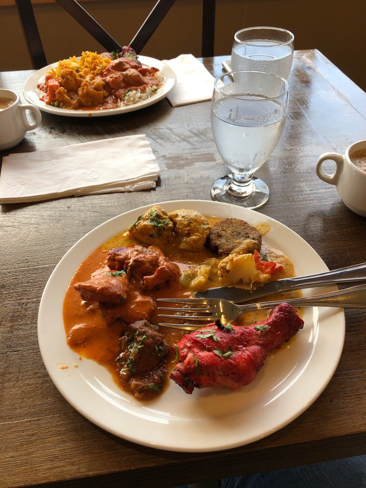 Food from Taj Mahal India Kitchen Conway
