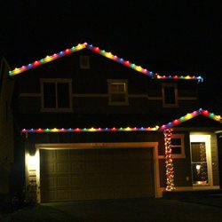 photo of la holiday lights los angeles ca united states