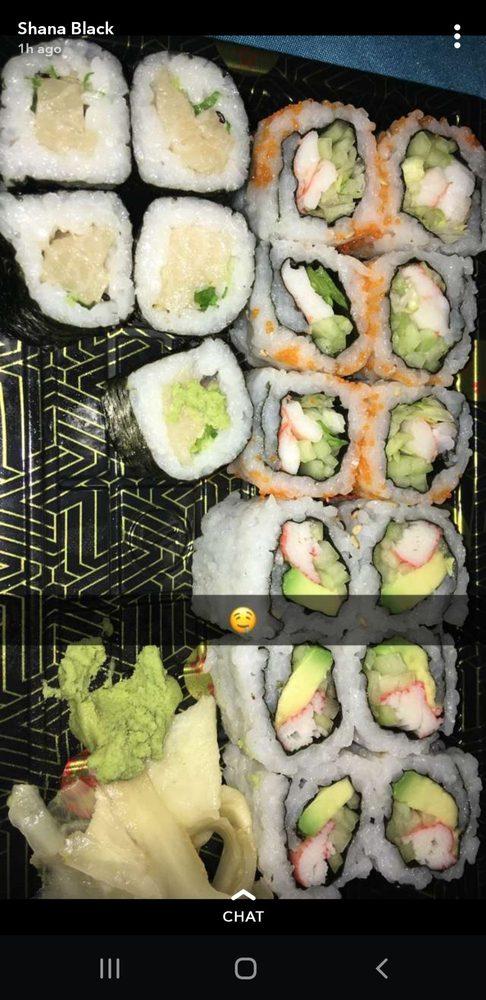 Shogun Sushi-Teriya: 600 Abruzzi Dr, Chester, MD