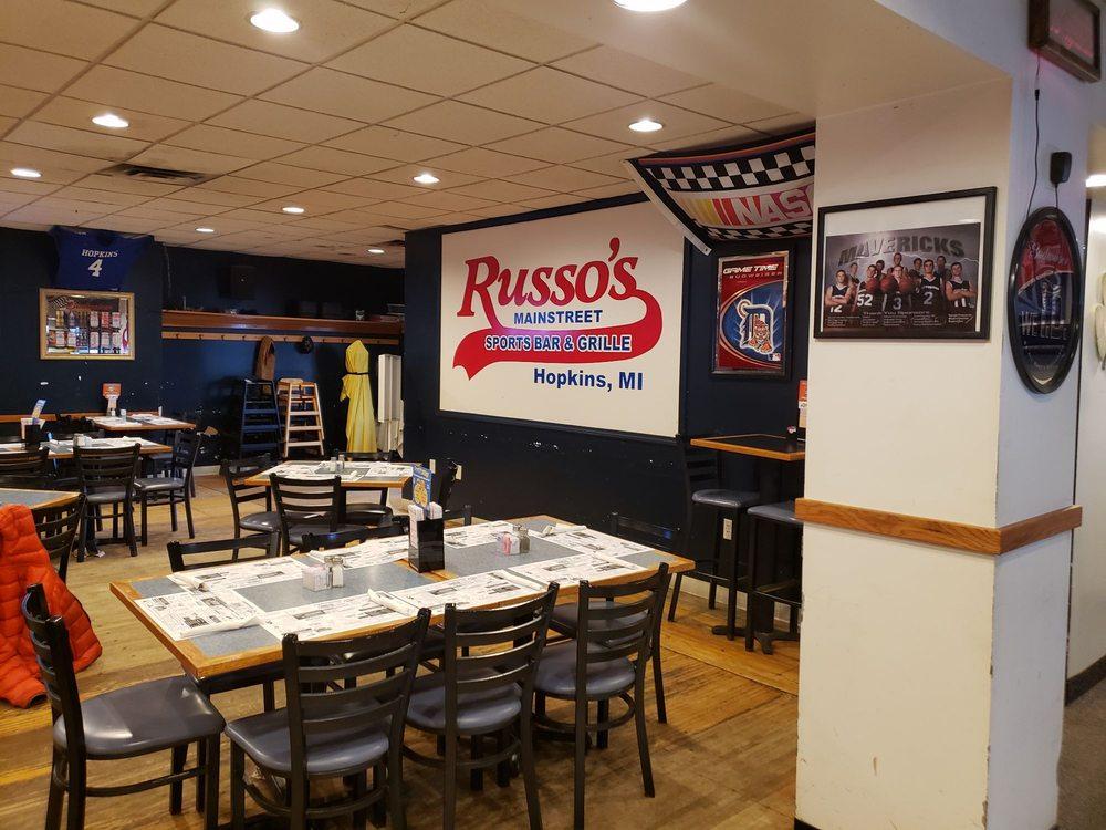 Russo's Pizzeria Bar & Grille: 100 E Main St, Hopkins, MI