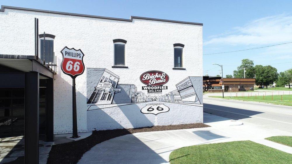 Bricks and Brews: 1531 Military Ave, Baxter Springs, KS