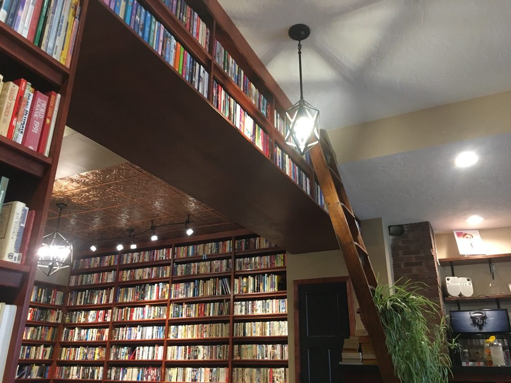 The Brewed Book - Coffee Shop & Used Book Store: 1524 N Harrison St, Davenport, IA