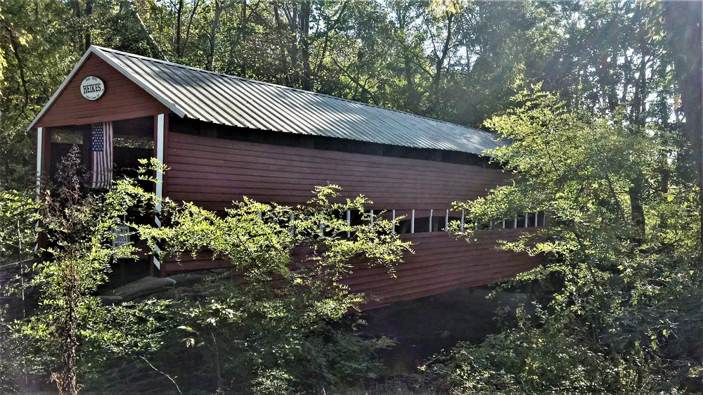Heikes Covered Bridge: 98 Willow St, York Springs, PA