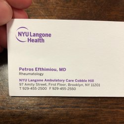 Petros Efthimiou, MD - Rheumatologists - 97 Amity St, Cobble