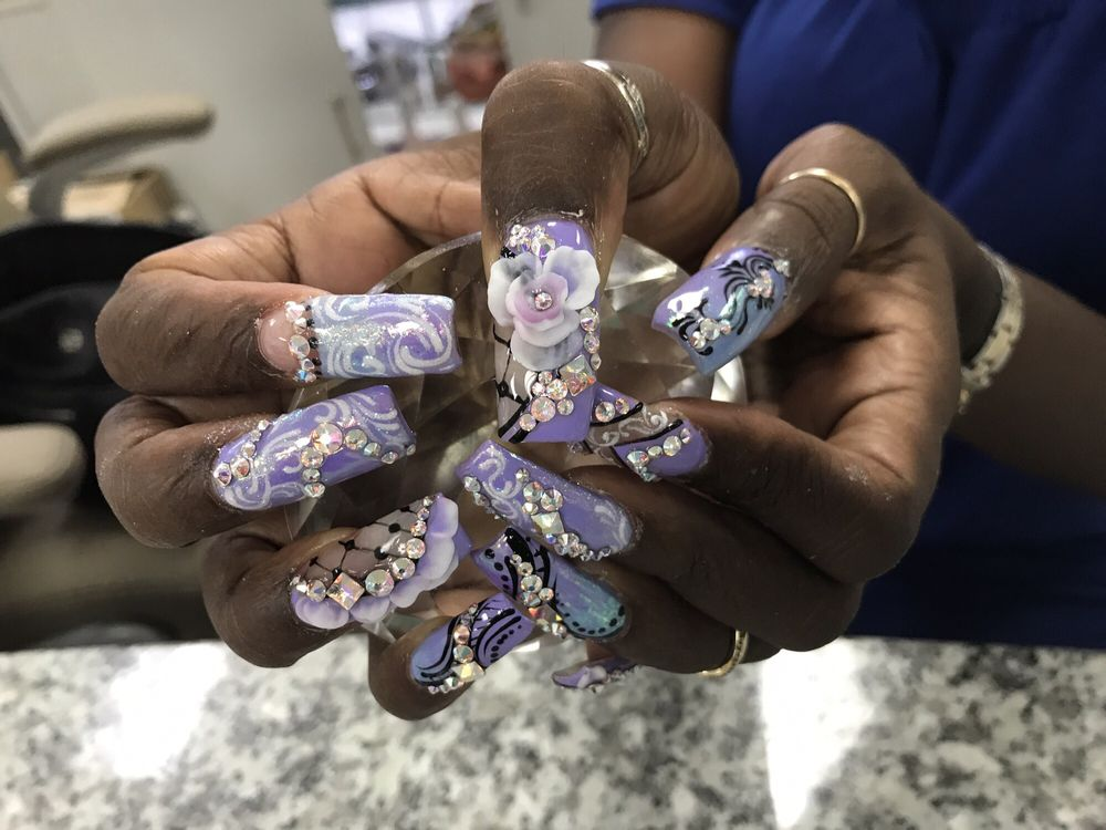 Luxury Nails Spa Highland Ca
