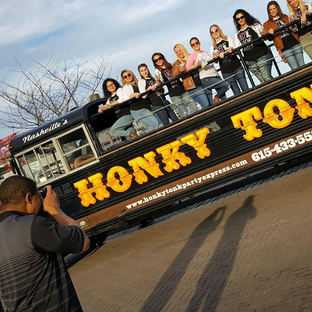 Honky Tonk Party Express: 210 Broadway, Nashville, TN