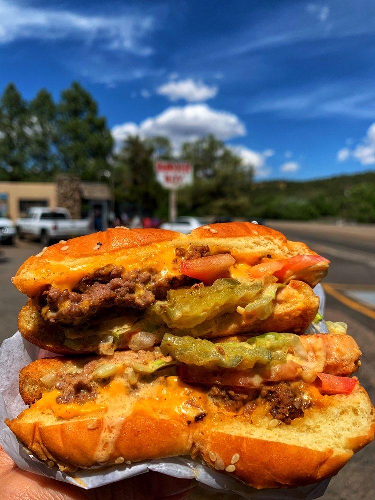 Burger Boy: 12023 State Hwy 14 N, Cedar Crest, NM
