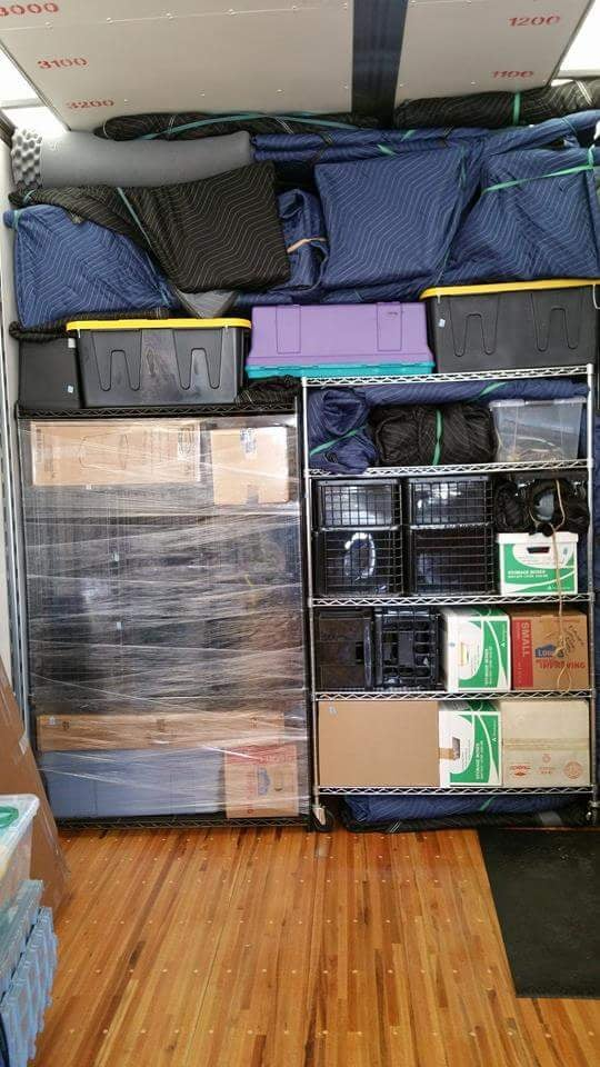 how to get help packing for a move
