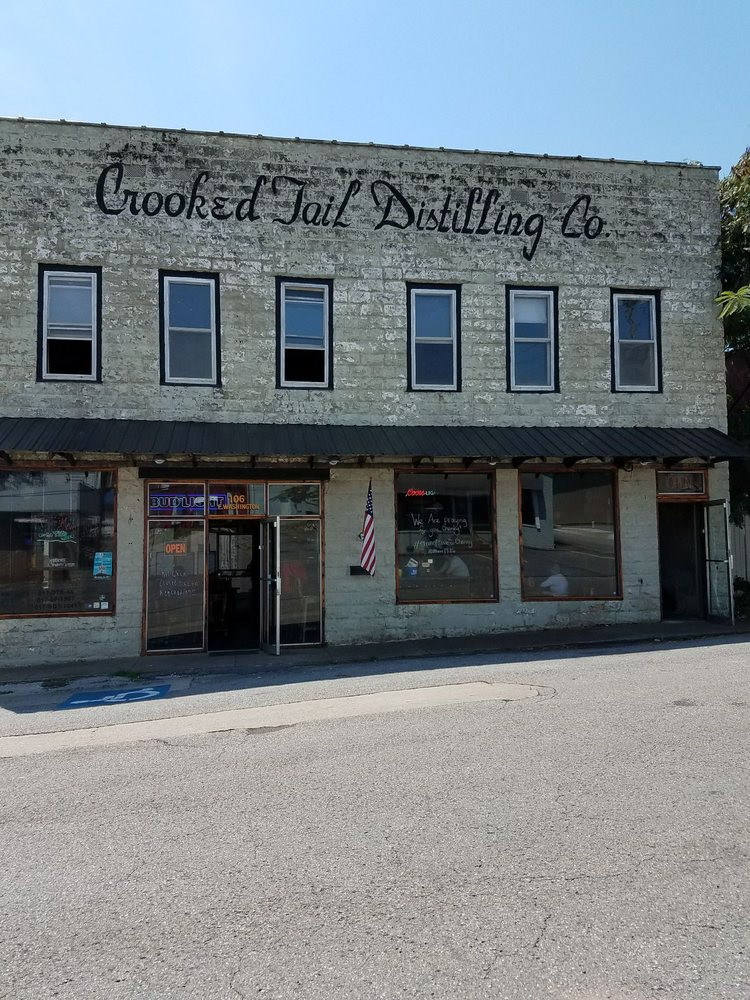 Crooked Tail Distilling Co: 106 E Washington St, Princeton, KY