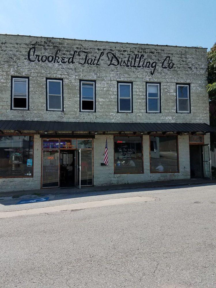 Crooked Tail Distilling Co: 106 E Washington St, Princeton, KY
