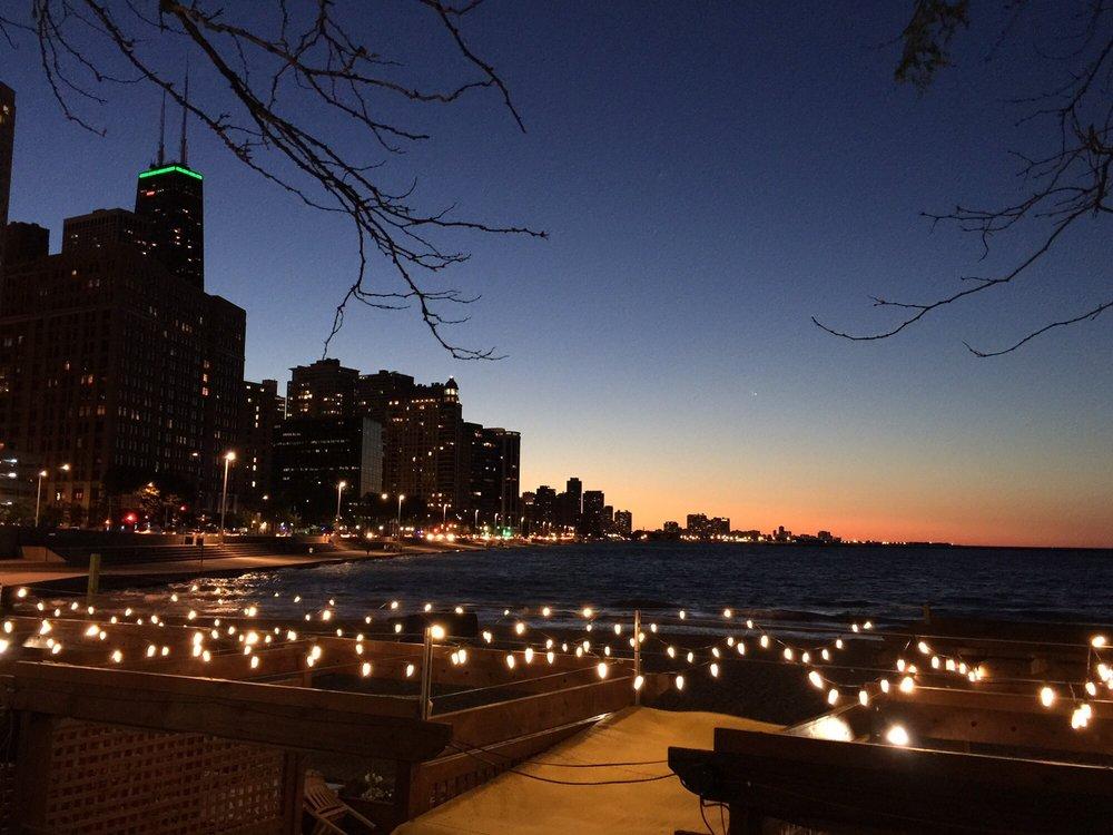 Ohio Street Beach: 400 N Lake Shore Dr, Chicago, IL