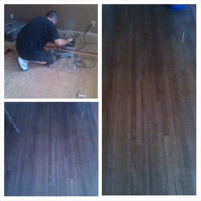 High Quality Photo Of Belmont Hardwood Flooring   Long Beach, CA, United States. Here  Working