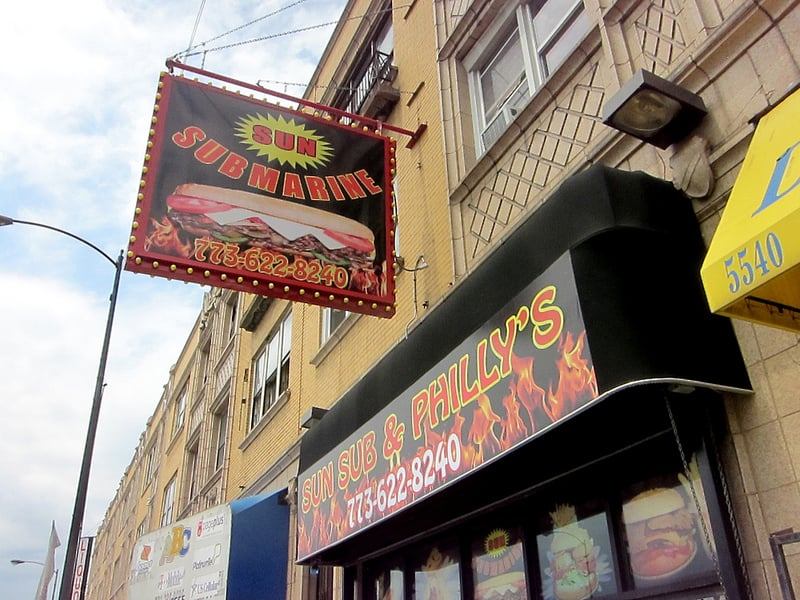 Sunsub & Philly's: 5542 W N Ave, Chicago, IL