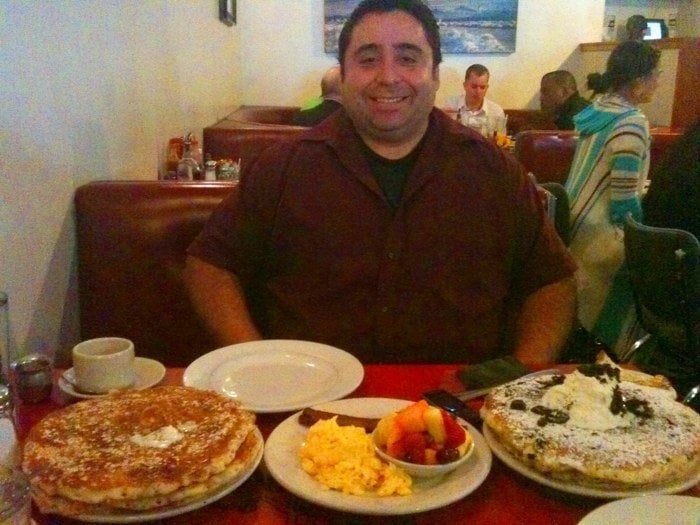 Photo Of The Griddle Cafe Hollywood Ca United States Man Vs