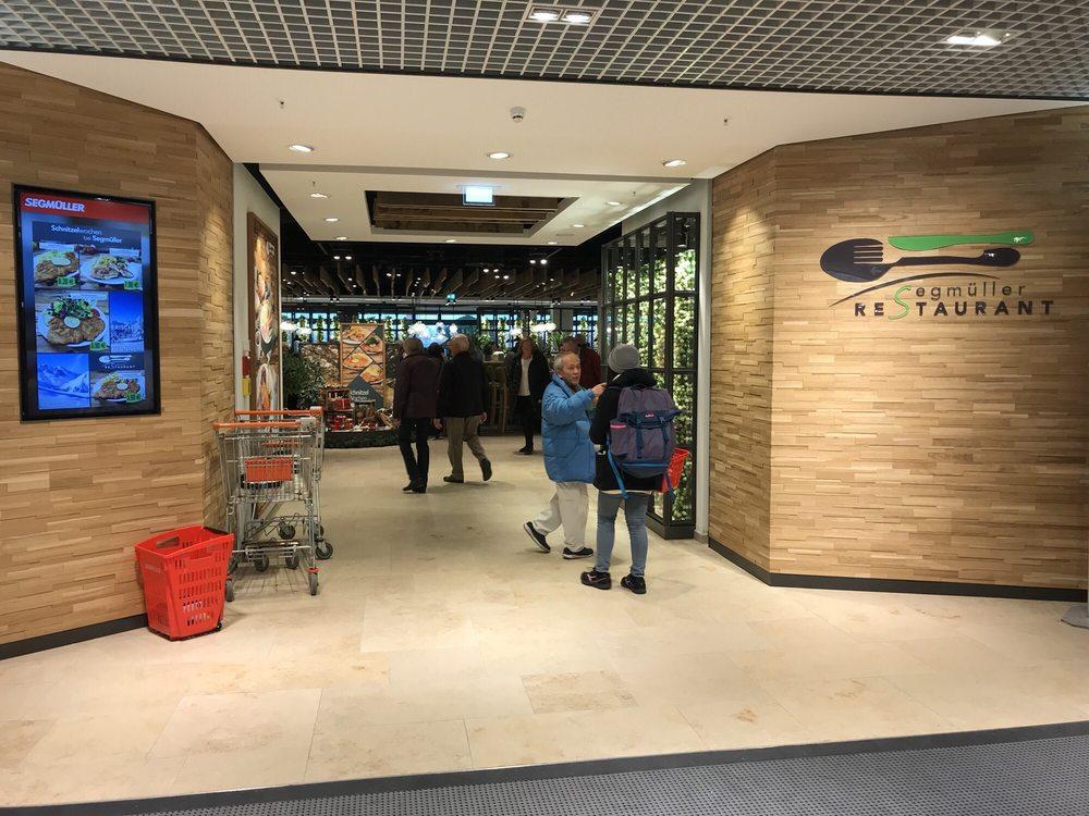 Eingang Segmüller Restaurant Mit Bedienung Yelp