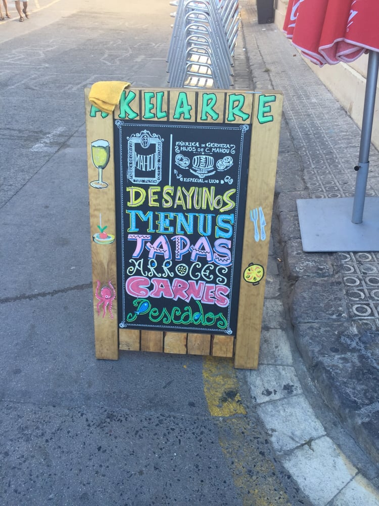 Akelarre espagnol passatge la vall 18 sitges barcelona espagne restaurant avis - Akelarre sitges ...