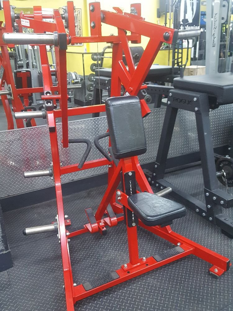 Hammer Strength Low row for back gains now available at the
