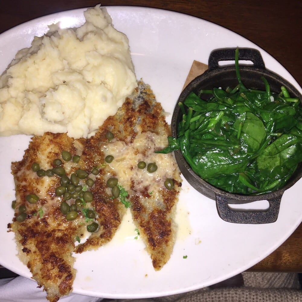 Parmesan crusted wild alaskan sand dabs w lemon butter for King s fish house