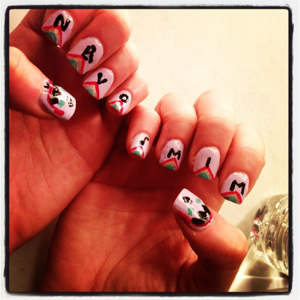 The Nervo Twins' Mim's Nail With POLISH By Lexi. Instagram