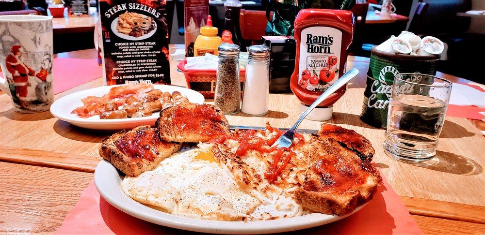 Food from Ram's Horn Restaurant