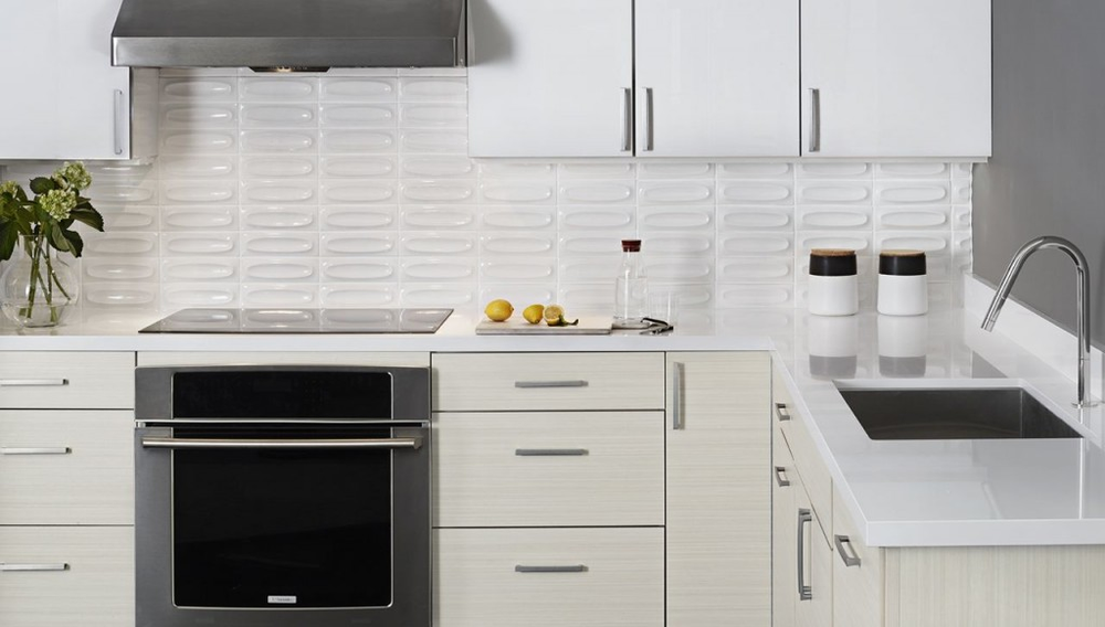 Kemper Whitman Maple In Painted White With Caprice Cherry In Sahara Stain    Yelp