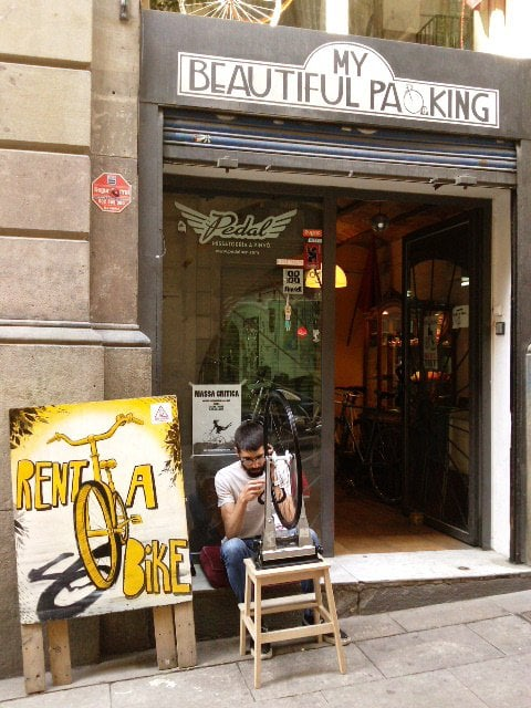 Pedal: Carrer de Cervantes, 5, Barcelona, B