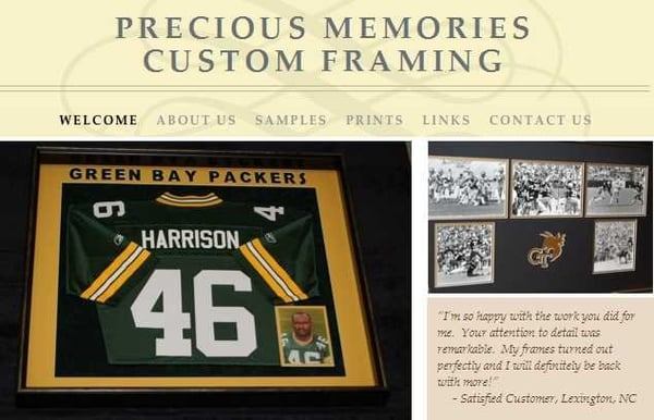 Precious Memories Custom Framing - CLOSED - Home Decor - 319 N Payne ...
