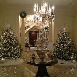 photo of georgias governors mansion atlanta ga united states winter wonderland christmas