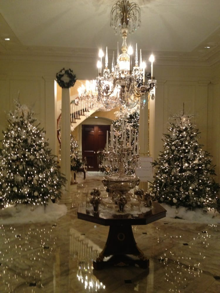 photo of georgias governors mansion atlanta ga united states winter wonderland christmas - Mansion Christmas Decorations