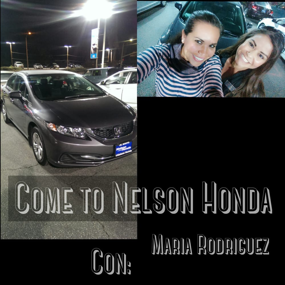 Good saleperson good attitude and the best at all she 39 s for Nelson honda el monte