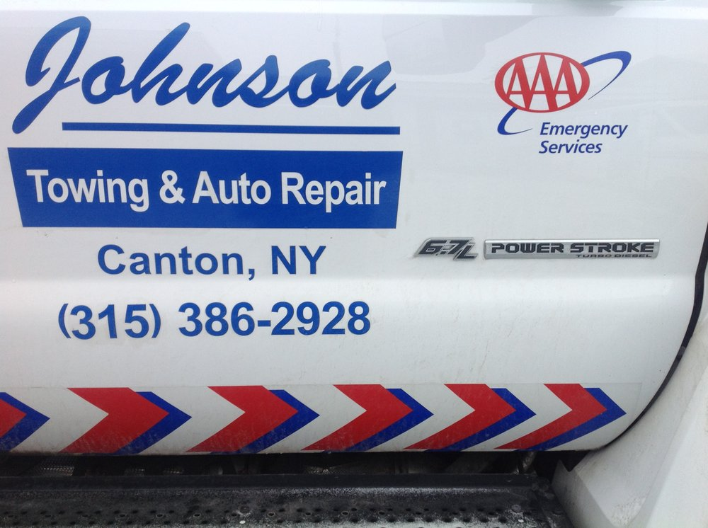Johnson Towing &  Auto Repair: 6385 US Highway 11, Canton, NY