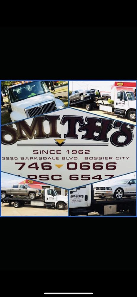 Smith's Towing and Recovery: 3220 Barksdale Blvd, Bossier City, LA