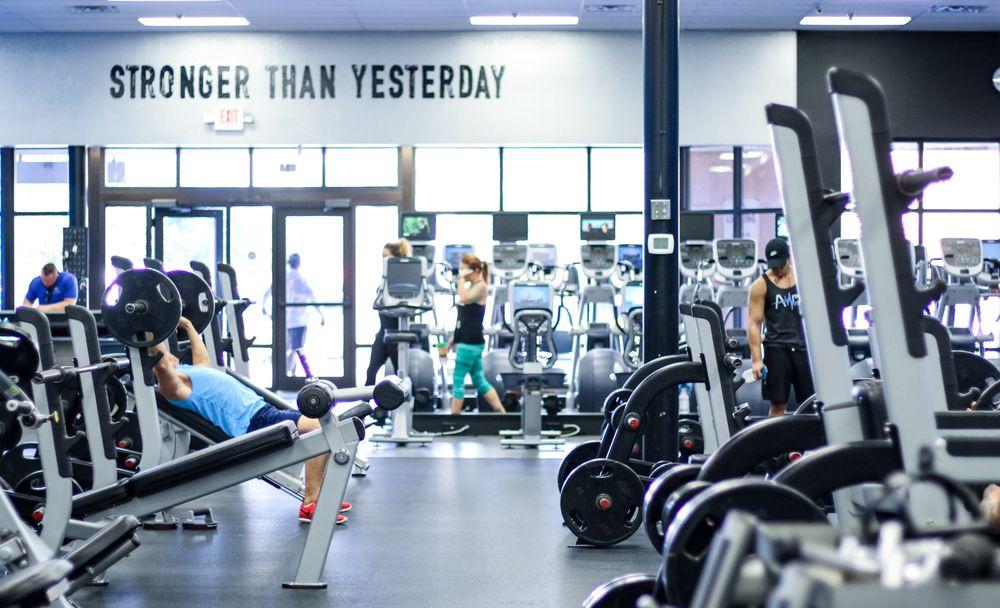 Amped Fitness Downtown St Petersburg: 830 3rd Ave S, Saint Petersburg, FL