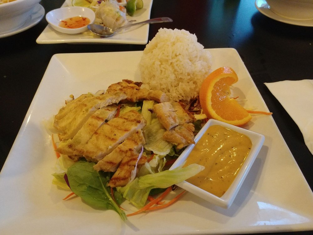Lemon Grass Chicken, really good and filling. Love it!!!! - Yelp