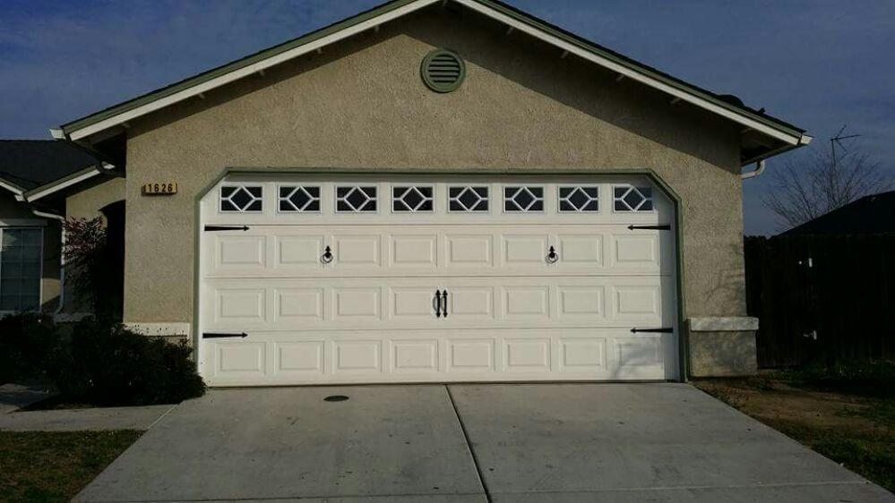 Remodel Your Existing Garage Door By Adding Windows And Some