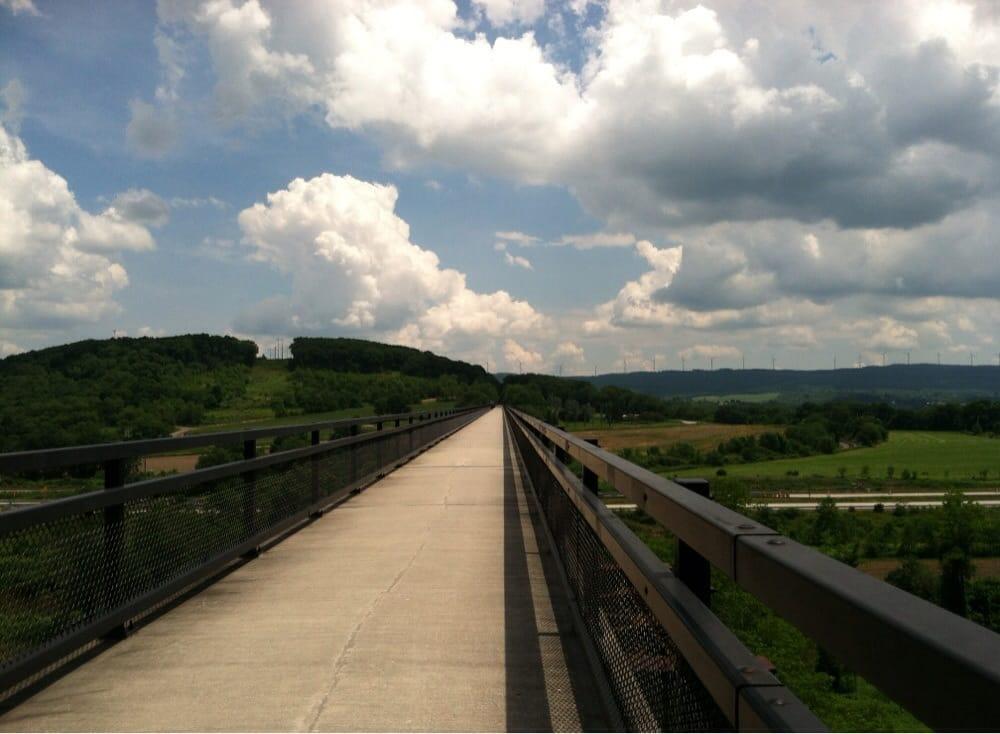 Salisbury Viaduct: Mason Dixon Highway At Shuck Rd, Meyersdale, PA