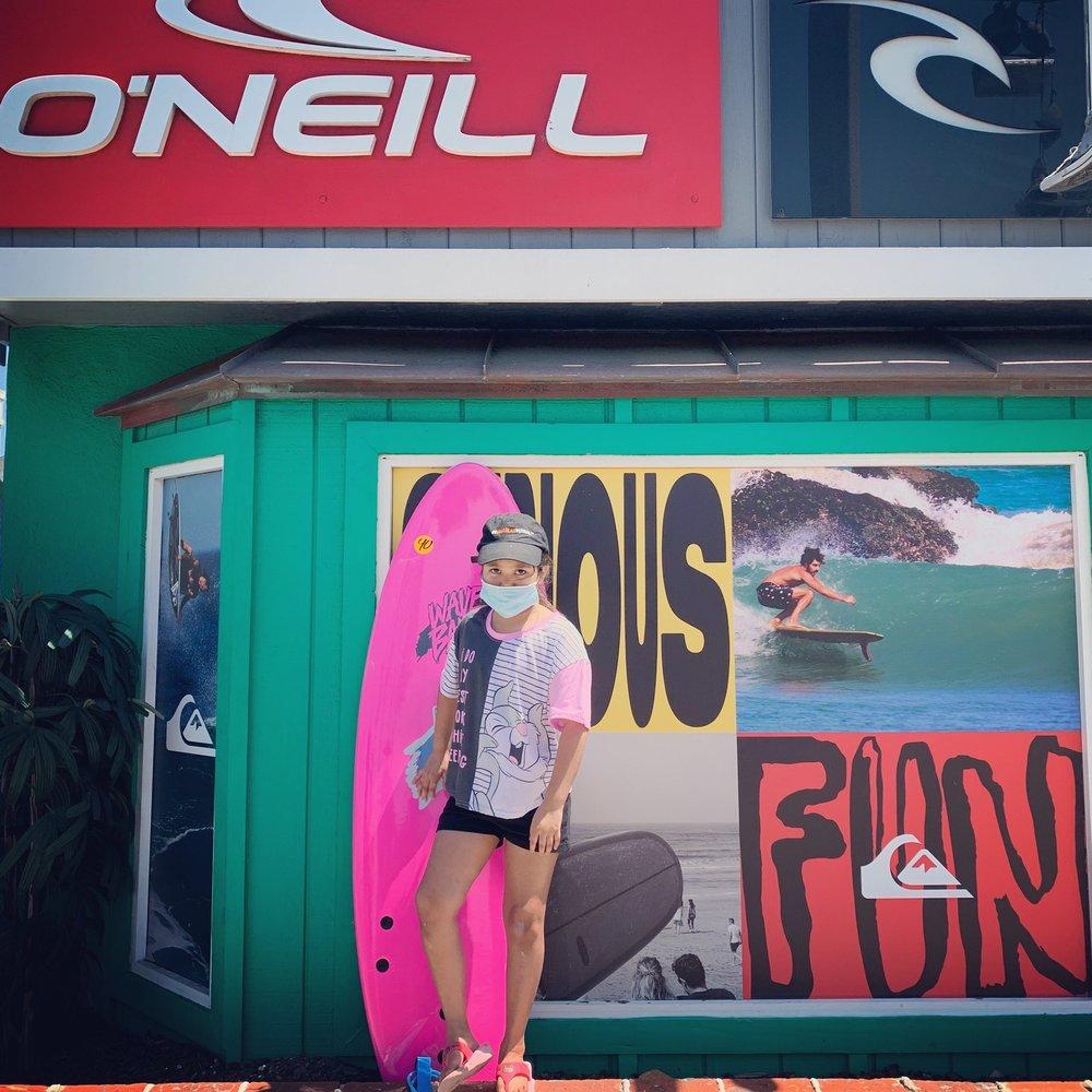 La boutique de surf Frog House