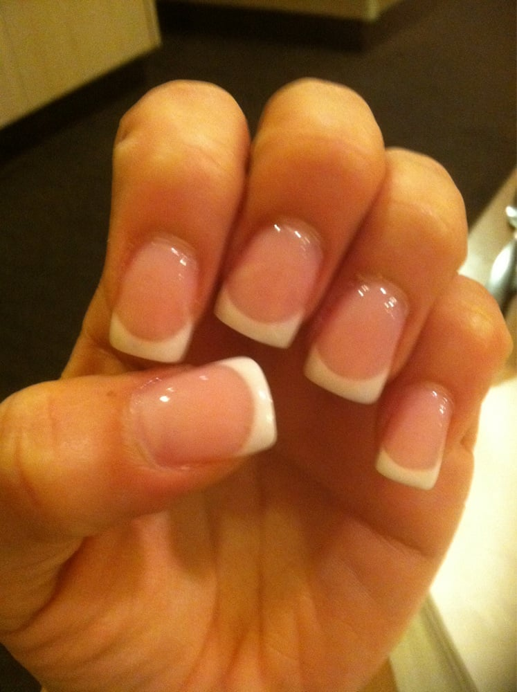 Pink n white fill French tip!;) - Yelp