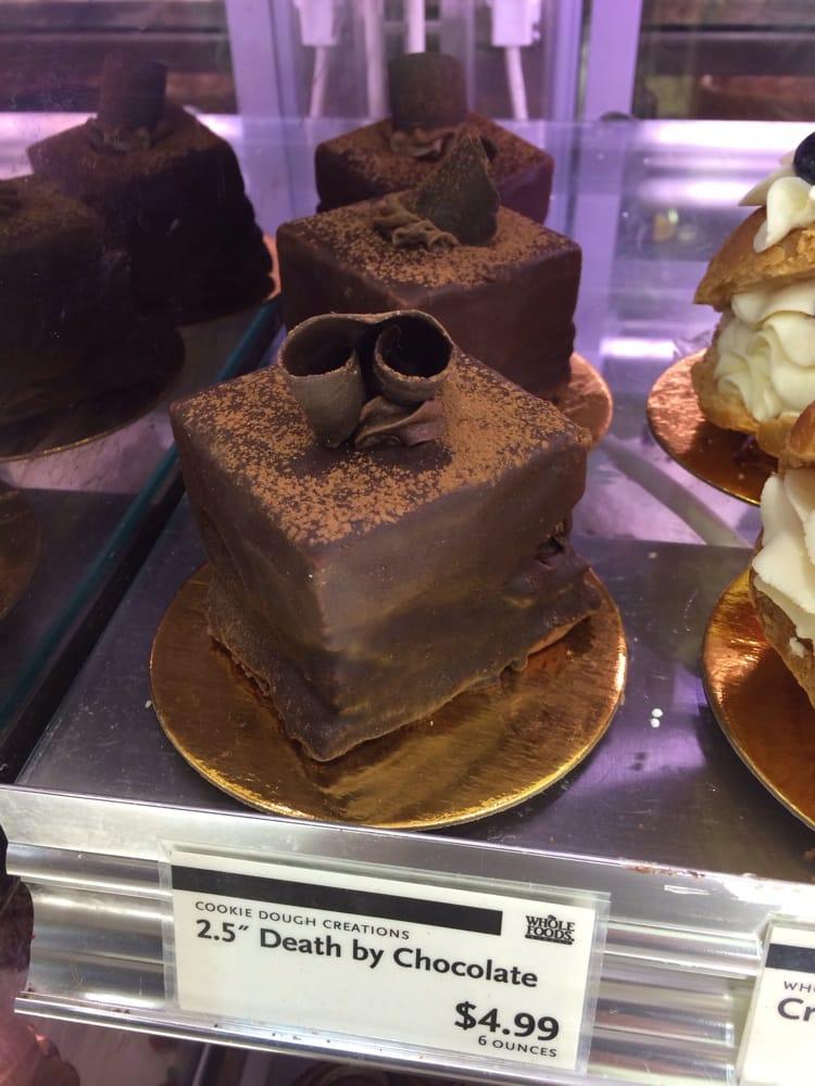 Too cute mini death by chocolate cake. - Yelp