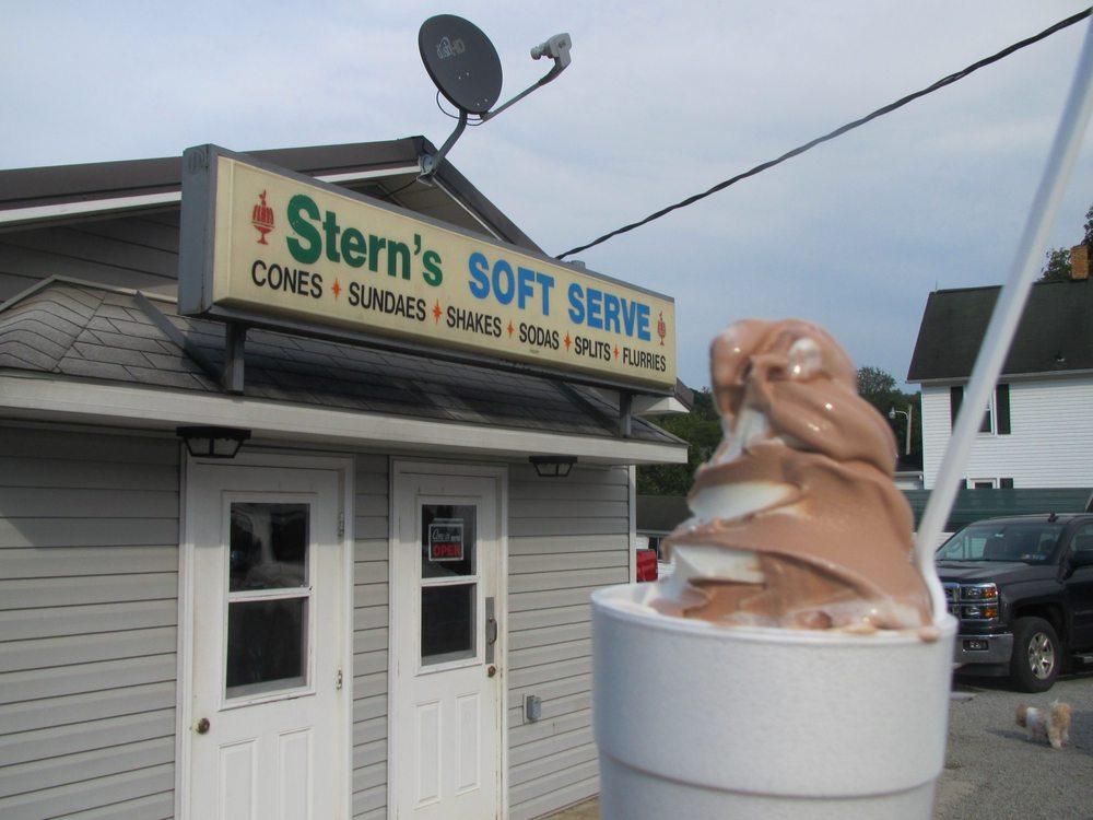 Stern's Ice Cream: 482 Indiana Rd, Creekside, PA