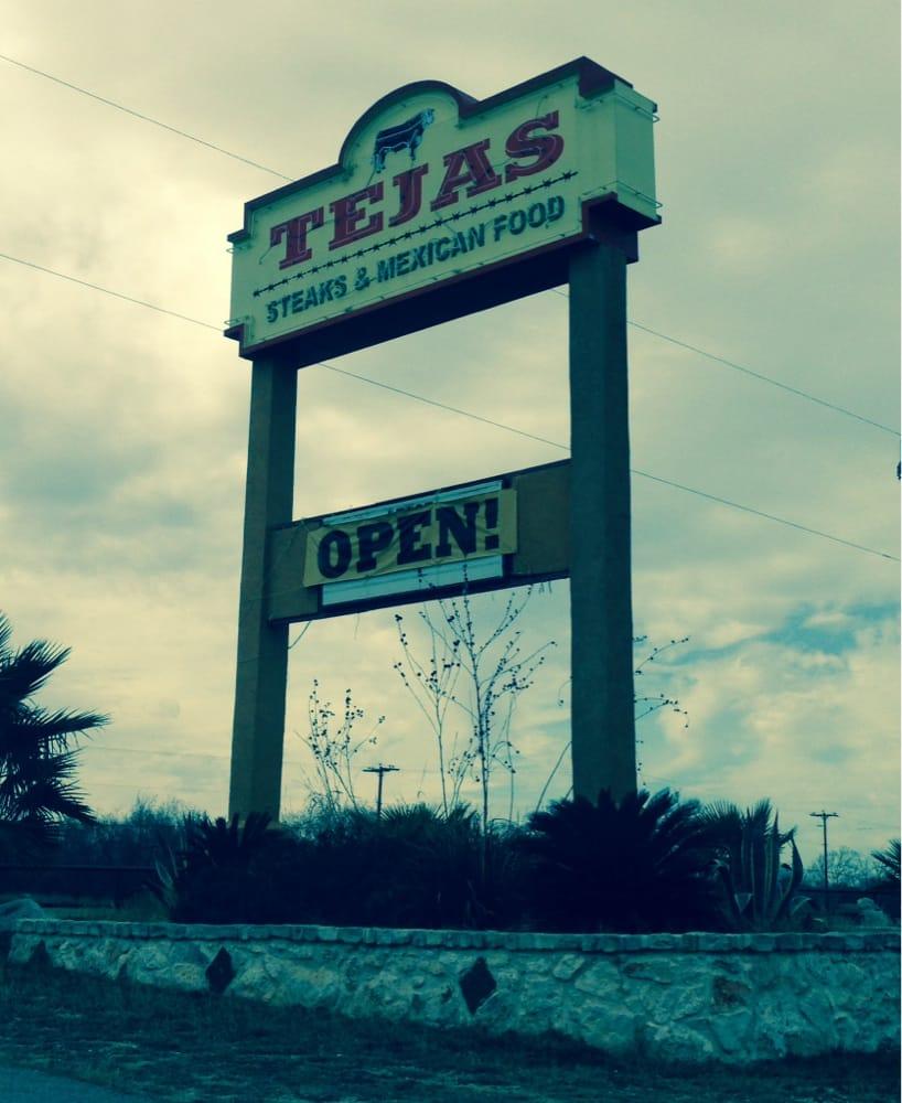 Tejas Steaks Mexican Food Adkins Tx