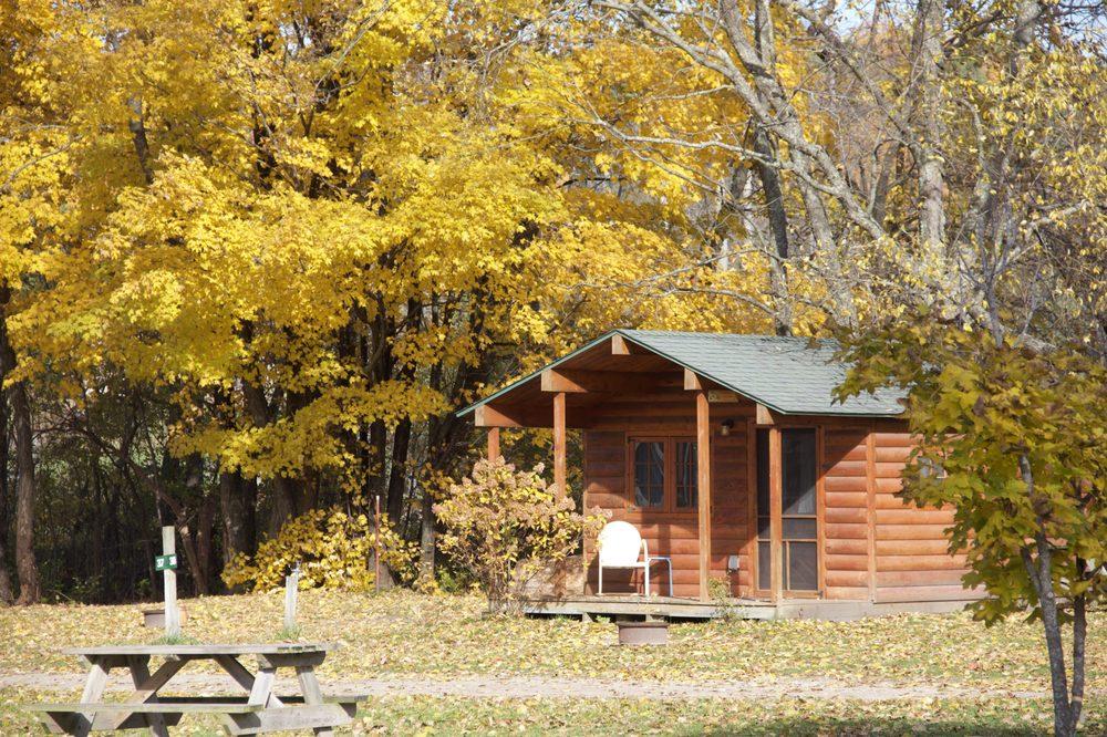 Betsie River Campsite: 1923 River Rd, Frankfort, MI