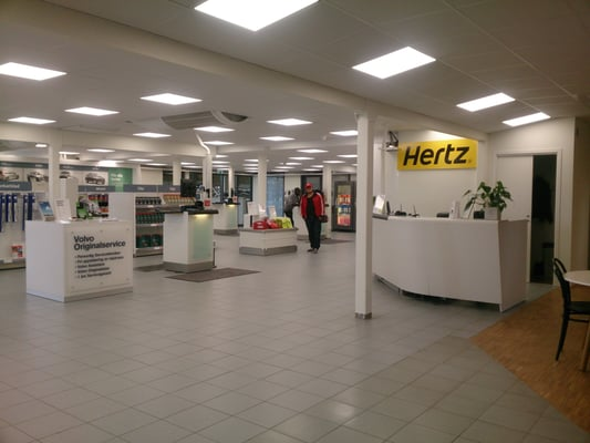 hertz biluthyrning