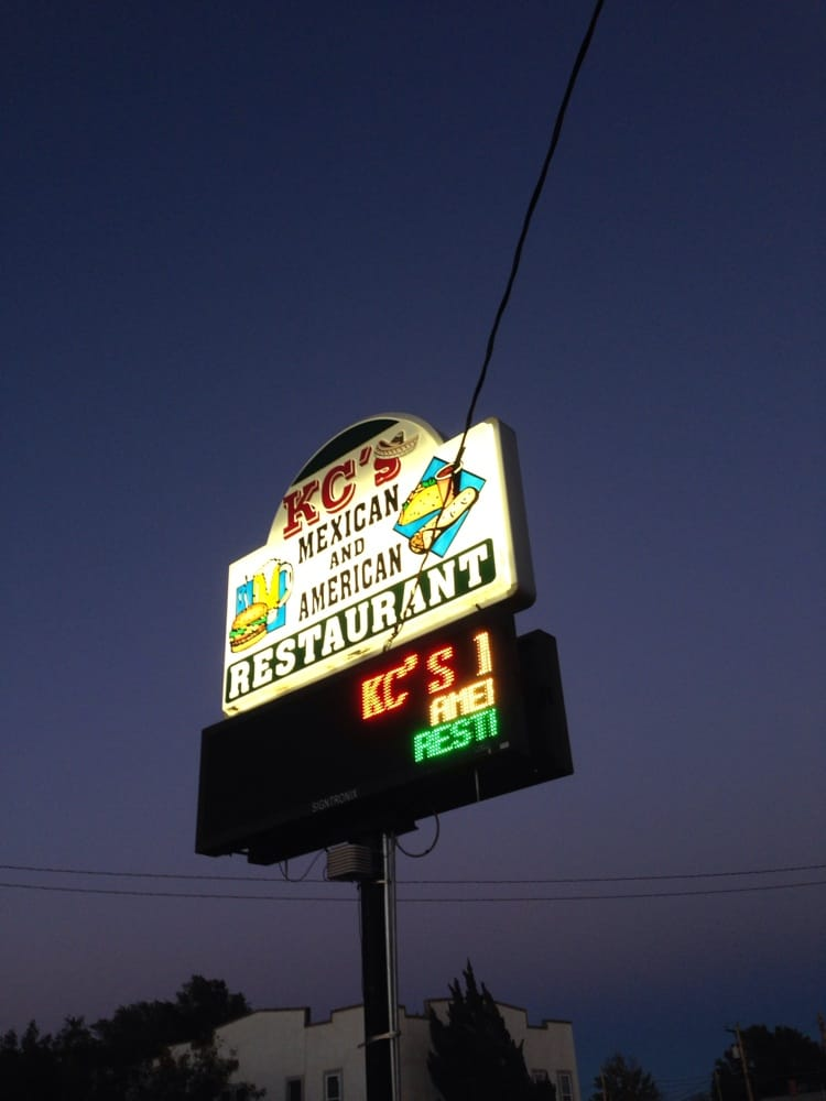 Kc's Mexican American Restaurant: 401 E Highway 50, Syracuse, KS
